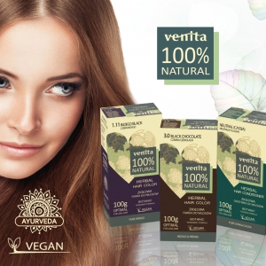 Venita Henna Herbal Hair Colour Grau Cosmétics